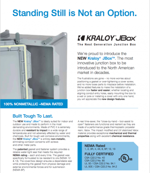 Kraloy Fittings JBox