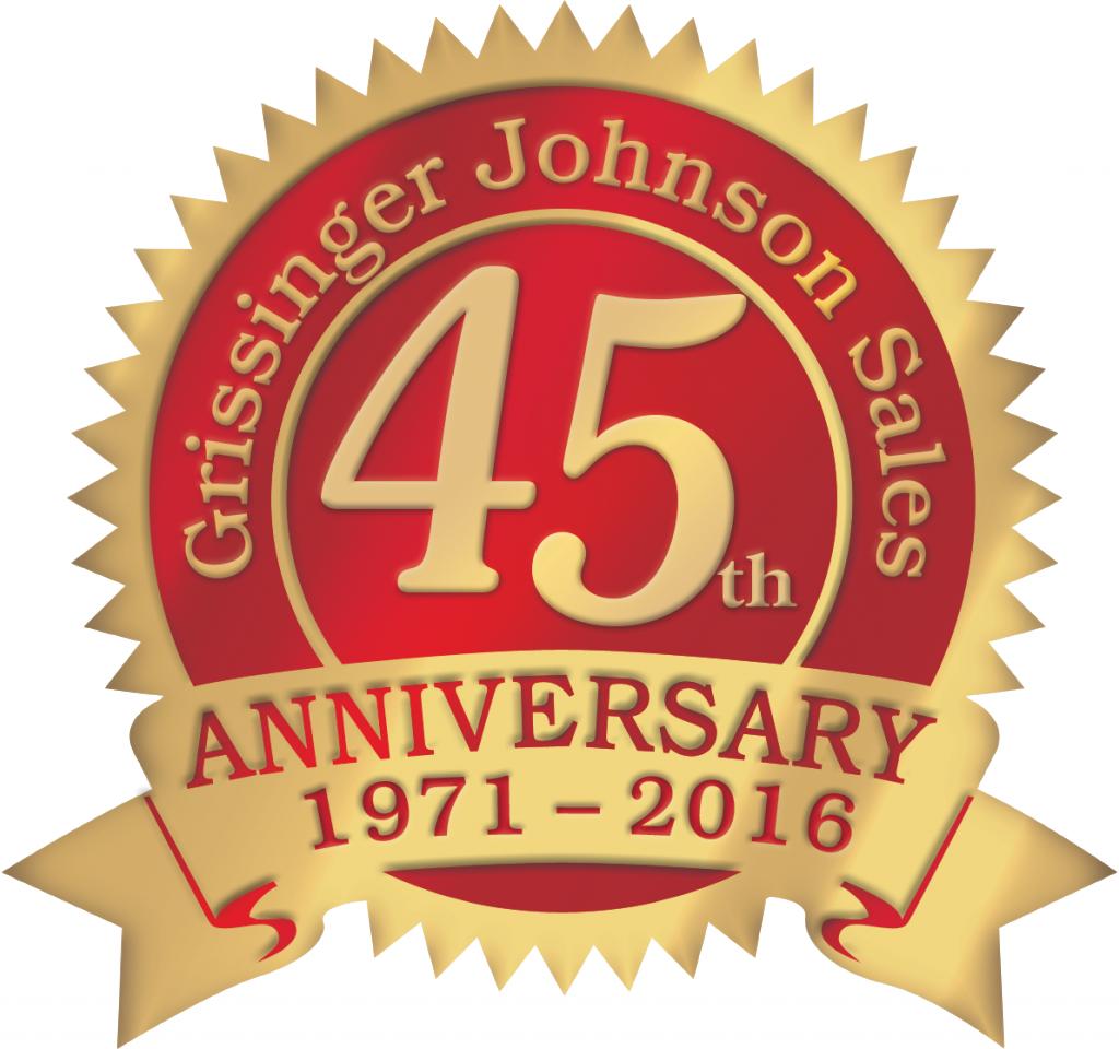 Grissinger Johnson 45th Anniversary